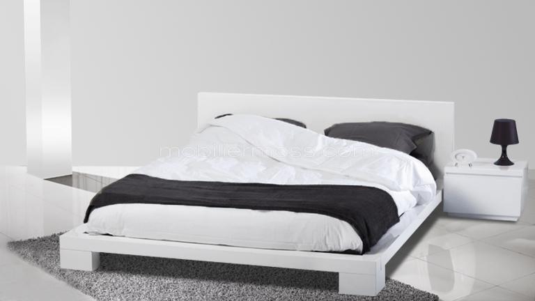 lit adulte grand format. Black Bedroom Furniture Sets. Home Design Ideas