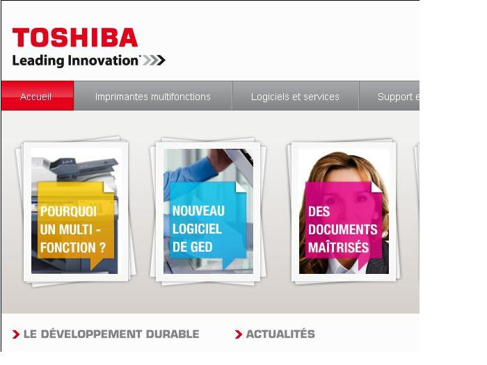 Détails : Solution d'impression, GED, copieur Toshiba